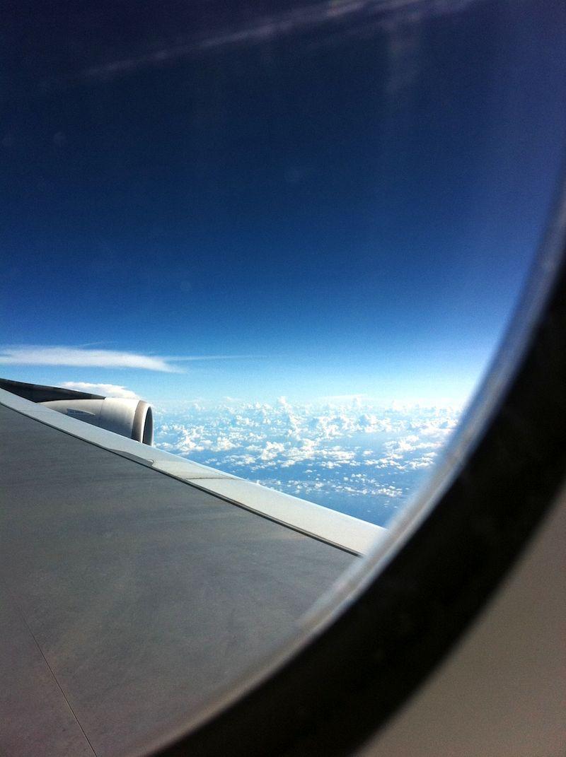 High above the Ocean