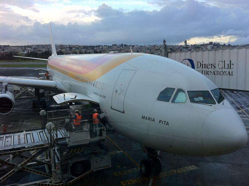 Iberia in Quito